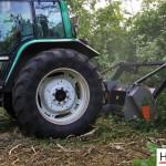 Mulczowanie terenu Gniezno_rozdrabnianie drzew_Hermar Gniezno_5